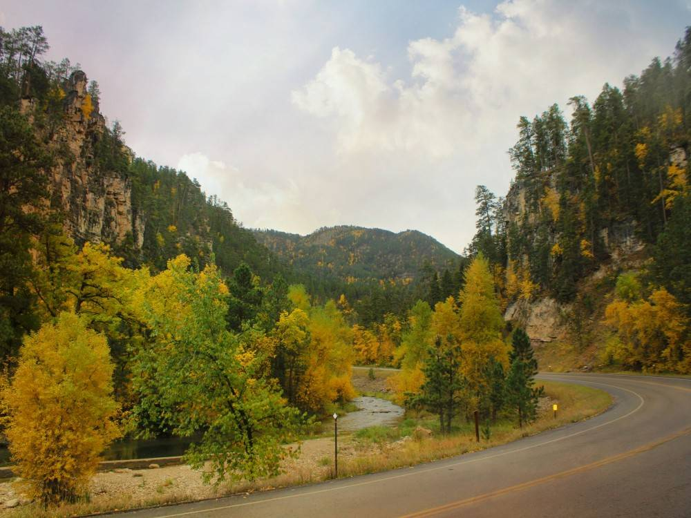 Spearfish Canyon in the Fall